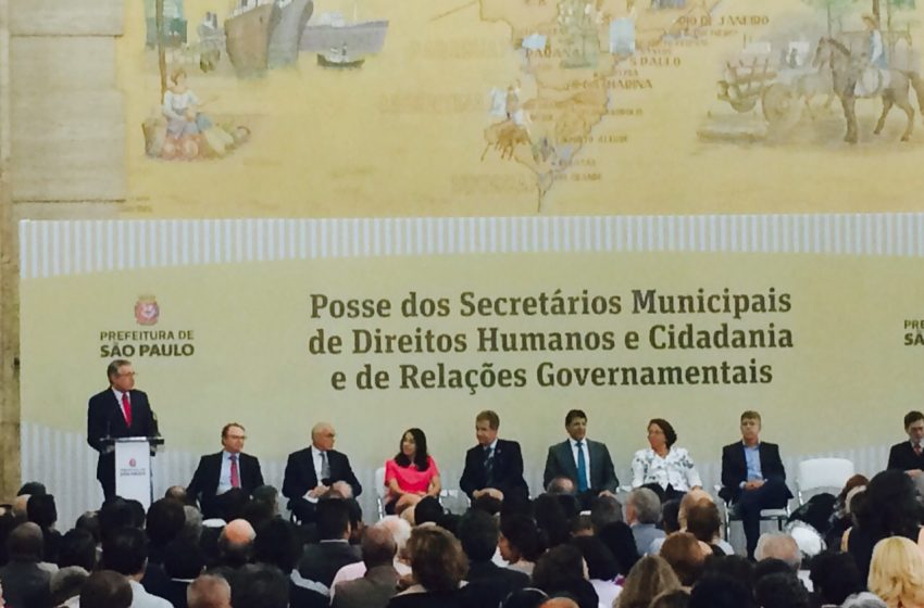 SEESP marca presença em posse do ex-ministro da Saúde, Alexandre Padilha