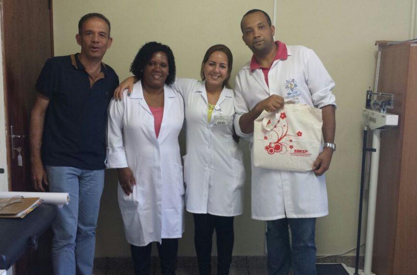 Unidades Básicas de Saúde da região da Zona Sul de São Paulo recebem visita do SEESP