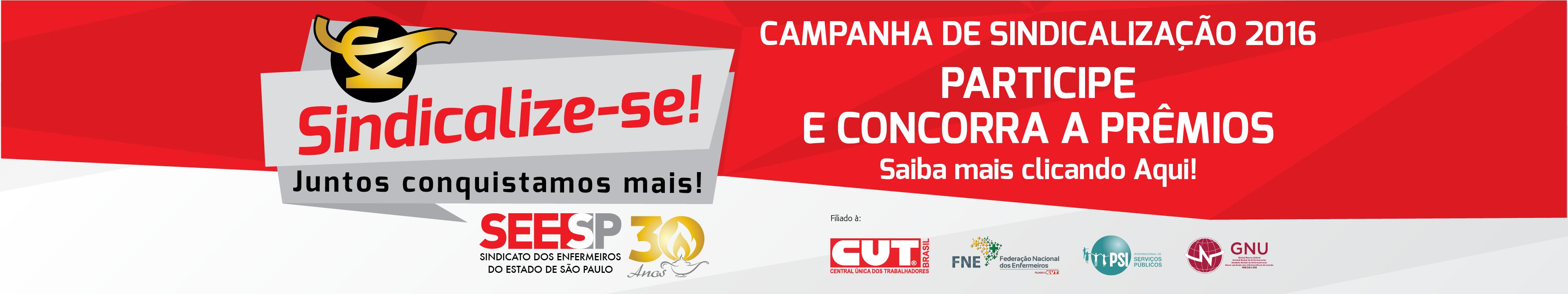 Campanha de Sindicalização 2016