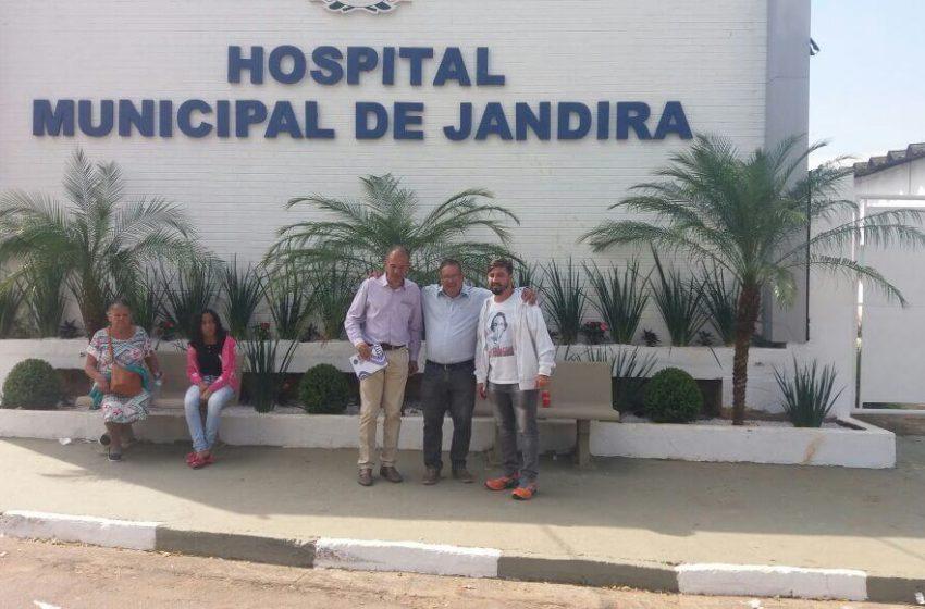 Prefeitura de Jandira, IAGES e FENAESC reúnem-se com SEESP para tratar de demissão de enfermeiros