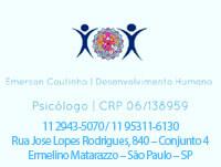 Emerson Alves Coutinho – Psicólogo