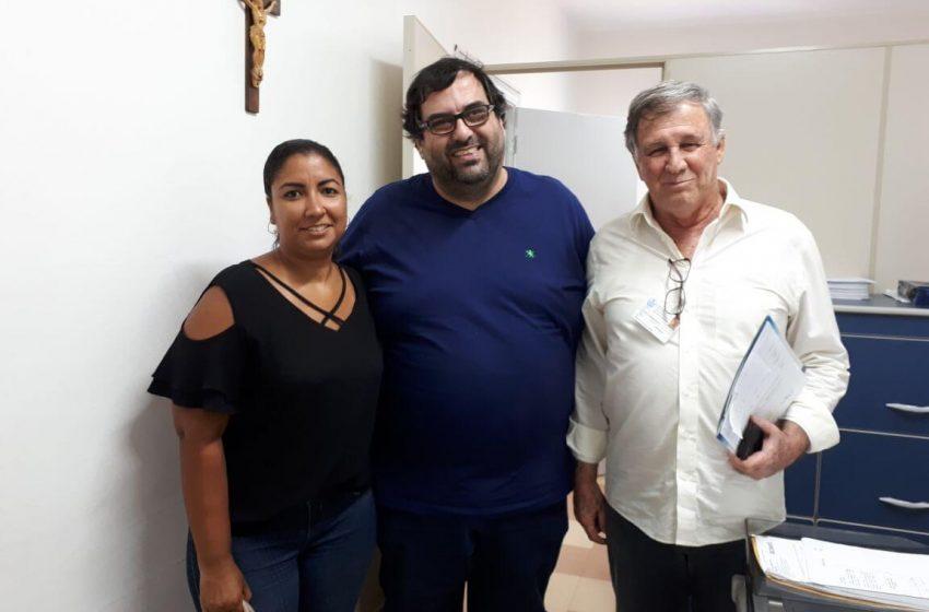 SEESP realiza reunião no Hospital Santa Casa de Santos