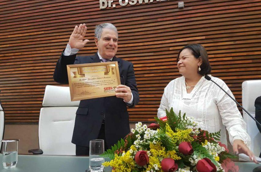 Ato de Outorga do Prêmio Anna Nery – Santos 2018