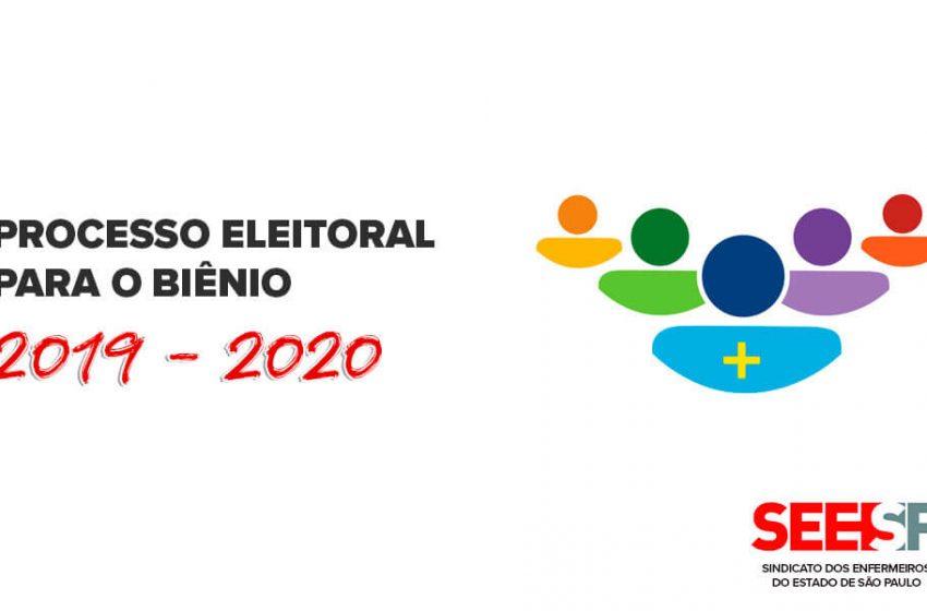 Conselho Estadual de Saúde de São Paulo: Processo eleitoral para o biênio 2019-2021