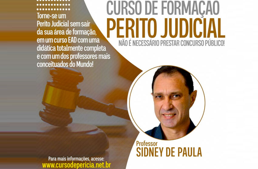 Cursos para formação de Perito Judicia