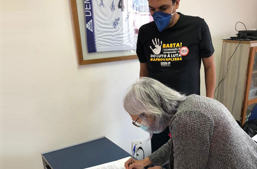 Assinada moção de apoio do PL 2564 em Mogi das Cruzes